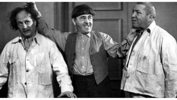 When You Thought They Were G-Men But They're Really The Three Stooges